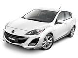 Photos of Mazda3 Hatchback i-stop (BL) 2009–11