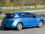 Photos of Mazda3 Hatchback US-spec (BL) 2009–11