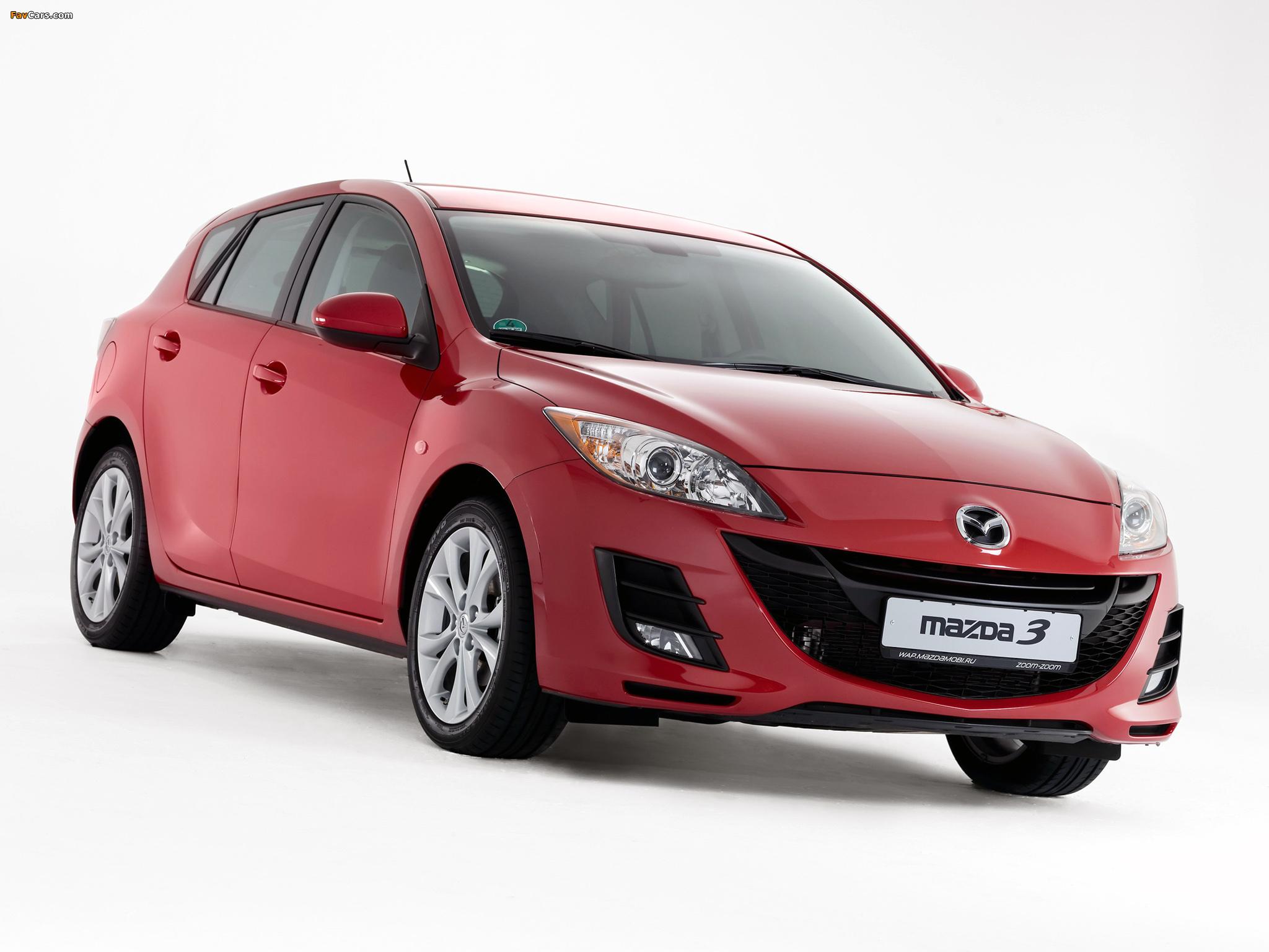 Photos of Mazda 3 Hatchback 2009–11 (2048 x 1536)