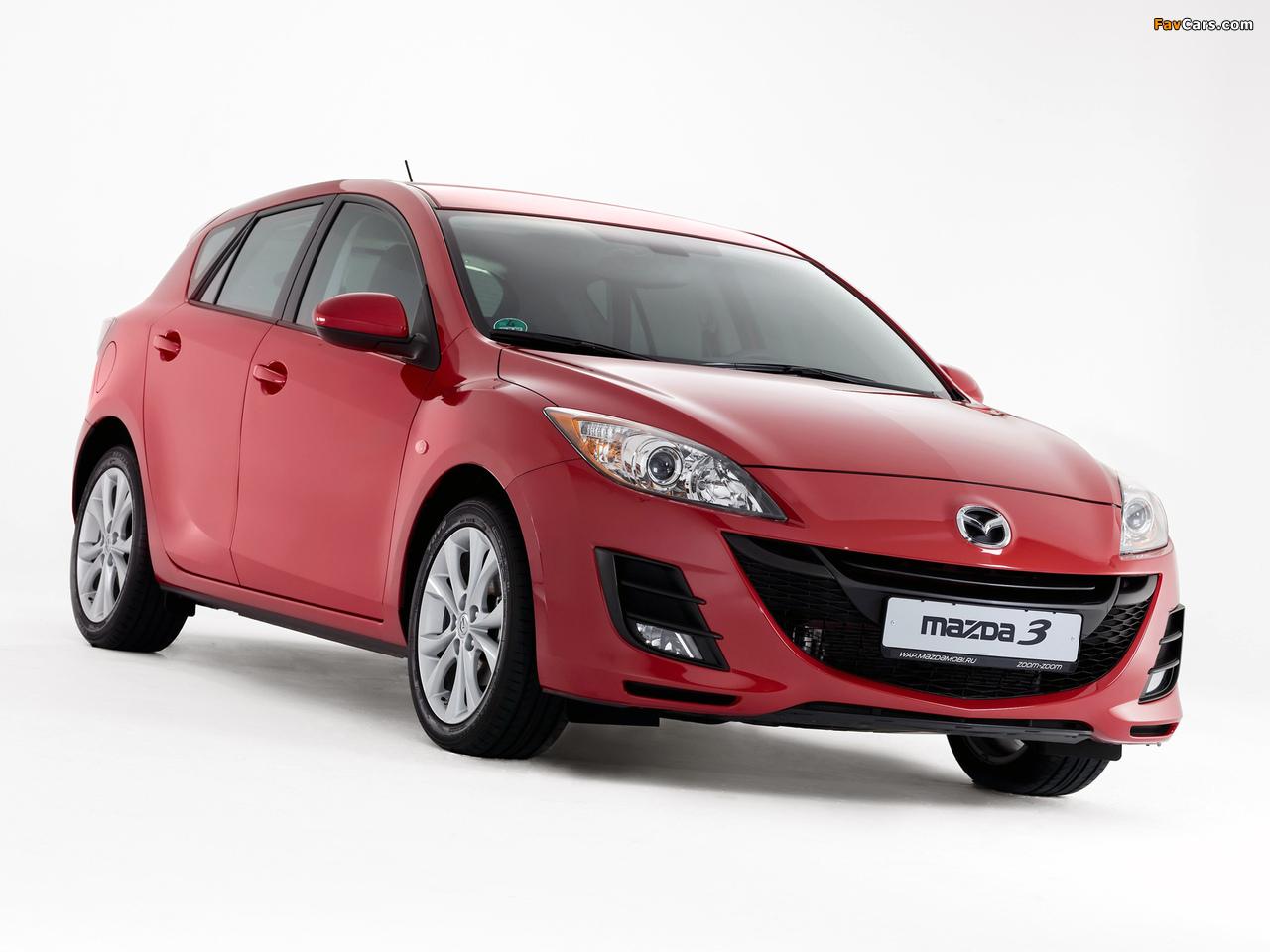 Photos of Mazda 3 Hatchback 2009–11 (1280 x 960)