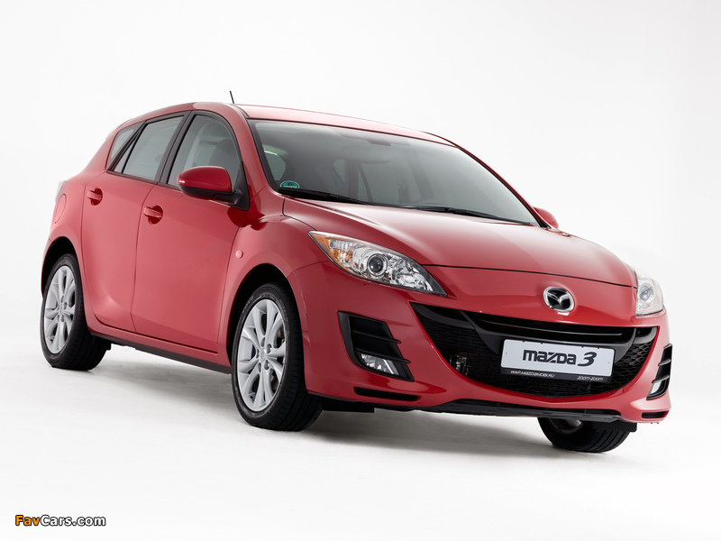 Photos of Mazda 3 Hatchback 2009–11 (800 x 600)