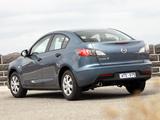 Photos of Mazda3 Sedan AU-spec (BL) 2009–11