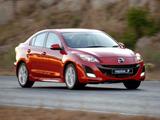 Photos of Mazda3 Sedan ZA-spec (BL) 2009–11