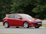 Photos of Mazda3 MPS UK-spec (BL) 2009–13