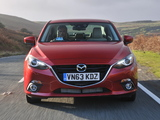 Photos of Mazda3 Sedan UK-spec (BM) 2013