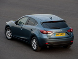 Photos of Mazda3 Hatchback UK-spec (BM) 2013