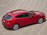 Photos of Mazda3 Hatchback (BM) 2013