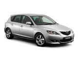 Pictures of Mazda 3 Hatchback 2003–06