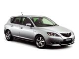 Pictures of Mazda 3 Hatchback AU-spec 2003–06