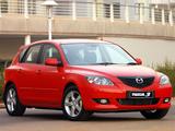 Pictures of Mazda3 Hatchback ZA-spec 2003–06