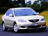 Pictures of Mazda3 Sedan AU-spec (BK) 2004–06