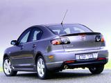 Pictures of Mazda3 SP23 Sedan (BK) 2004–06