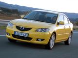 Pictures of Mazda3 Sedan (BK) 2004–06
