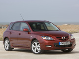 Pictures of Mazda3 Sport Hatchback UK-spec (BK2) 2006–09