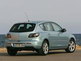 Pictures of Mazda 3 Hatchback 2006–09