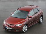 Pictures of Mazda3 Sport Hatchback UK-spec (BK2) 2006–09