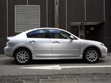 Pictures of Mazda3 Sedan AU-spec (BK2) 2006–09