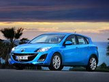 Pictures of Mazda 3 Hatchback 2009–11