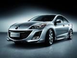 Pictures of Mazda3 Sedan CN-spec (BL) 2009–11