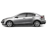 Pictures of Mazda3 Sedan US-spec (BL) 2009–11