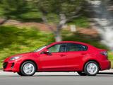 Pictures of Mazda3 Sedan US-spec (BL2) 2011–13