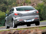 Pictures of Mazda3 Sedan AU-spec (BL2) 2011–13