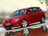 Mazda3 Sport Hatchback ZA-spec (BK) 2003–06 wallpapers