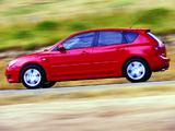 Mazda 3 Hatchback AU-spec 2003–06 wallpapers