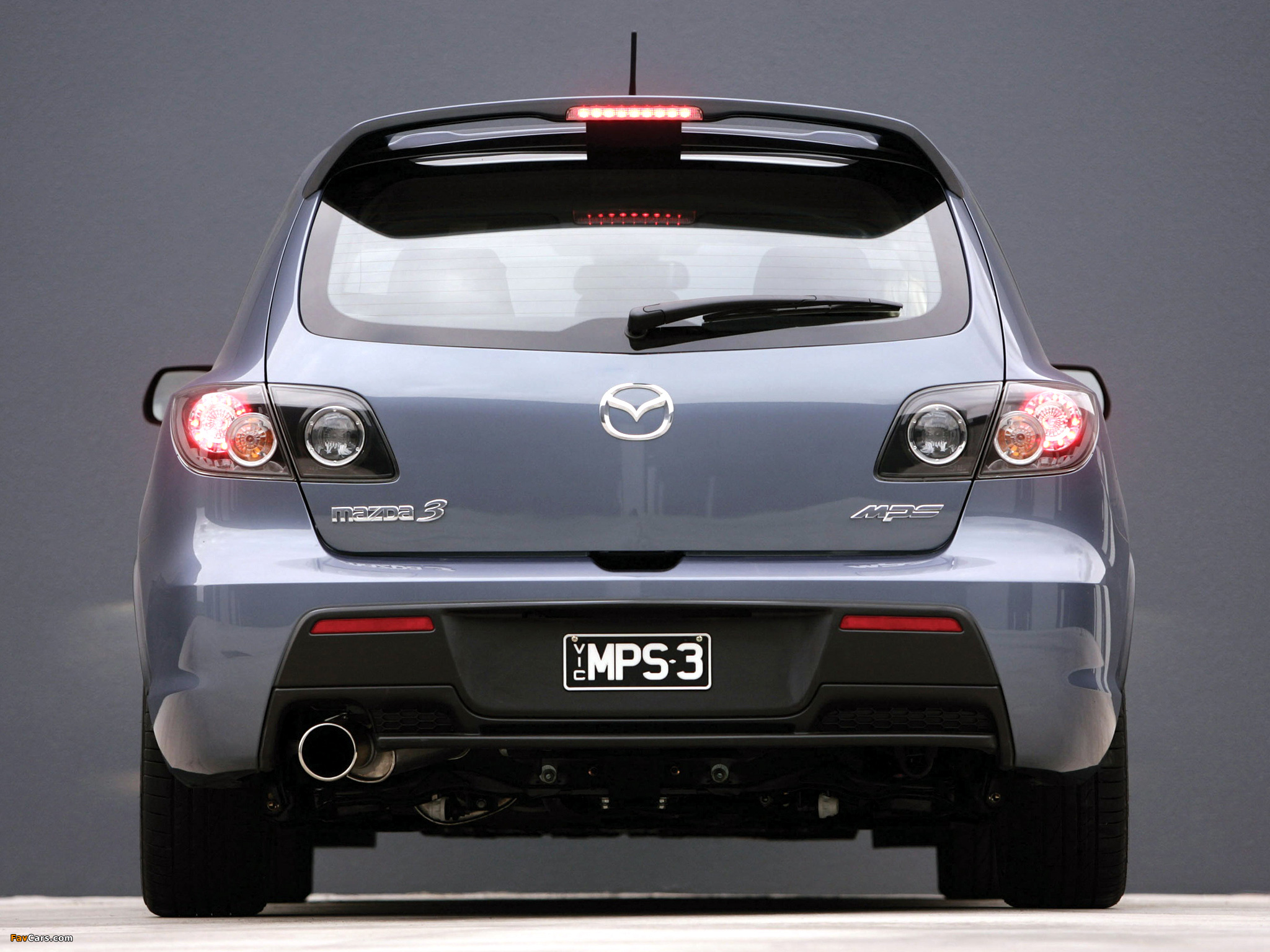 Mazda 3 Mps Au Spec 2006 09 Wallpapers