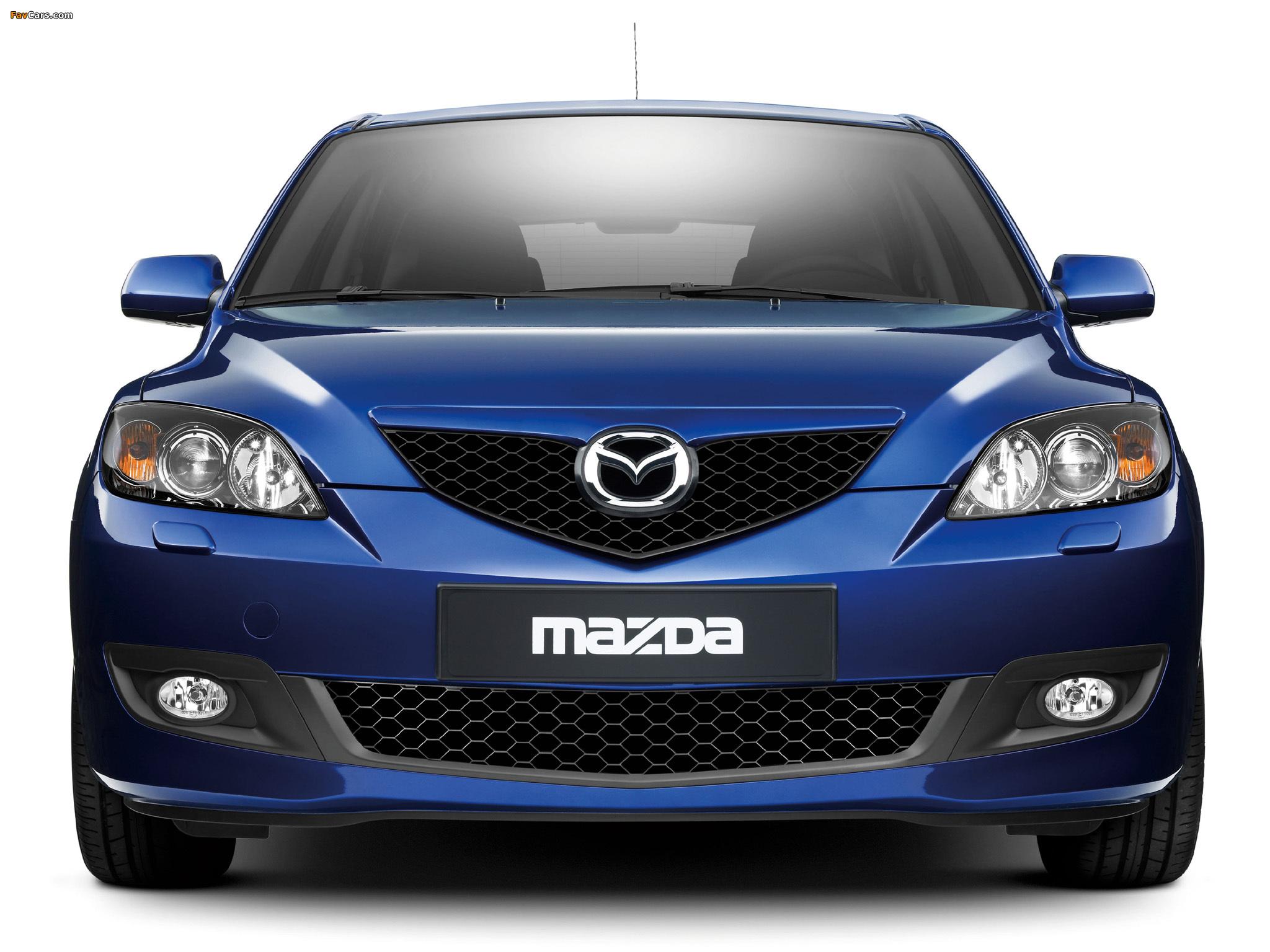 Mazda 3 Hatchback 2006–09 wallpapers (2048 x 1536)