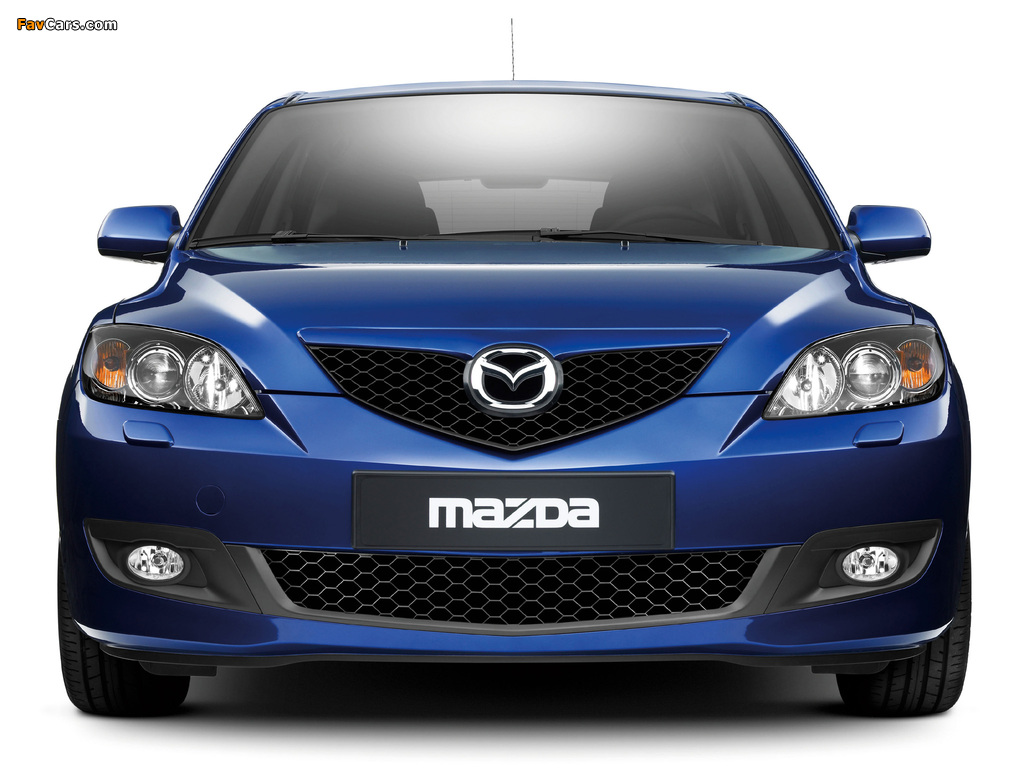 Mazda 3 Hatchback 2006–09 wallpapers (1024 x 768)