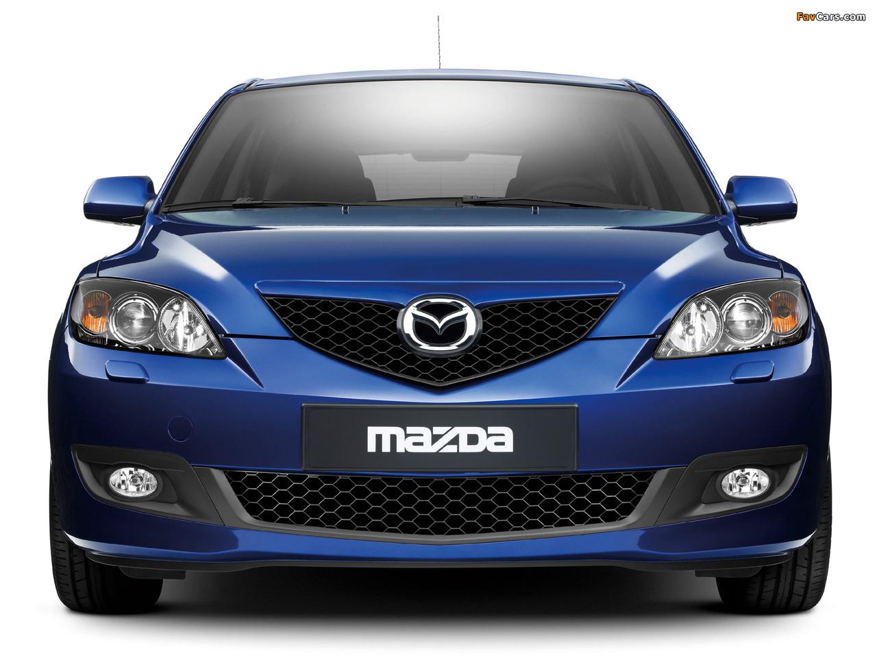 Mazda 3 Hatchback 2006–09 wallpapers (1280 x 960)
