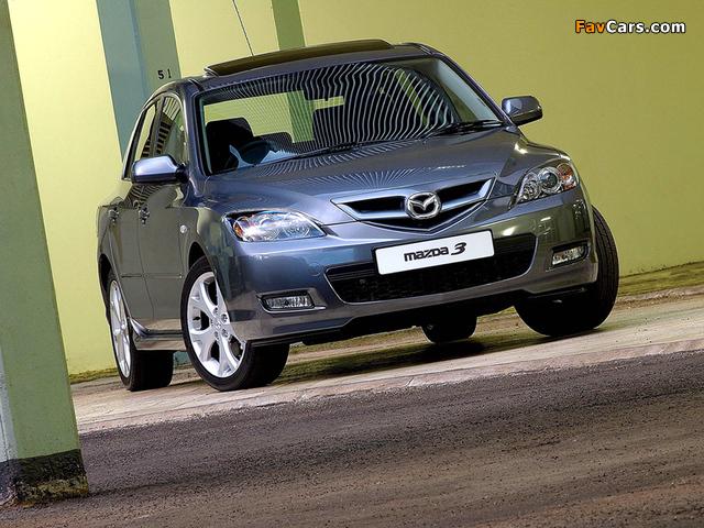 Mazda3 Sport Hatchback ZA-spec (BK2) 2006–09 wallpapers (640 x 480)