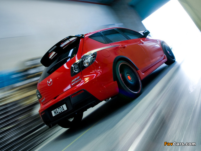 Mazda3 MPS Extreme Concept (BK) 2007 wallpapers (640 x 480)
