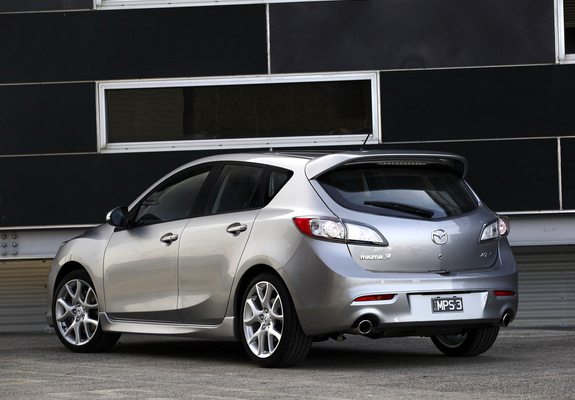 Mazda3 Mps Au Spec Bl 2009 13 Wallpapers