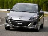 Mazda3 Sedan US-spec (BL) 2009–11 wallpapers