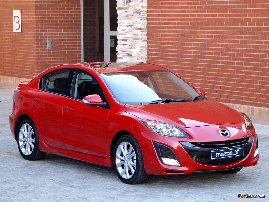 Mazda3 Sedan ZA-spec (BL) 2009–11 wallpapers (1024 x 768)