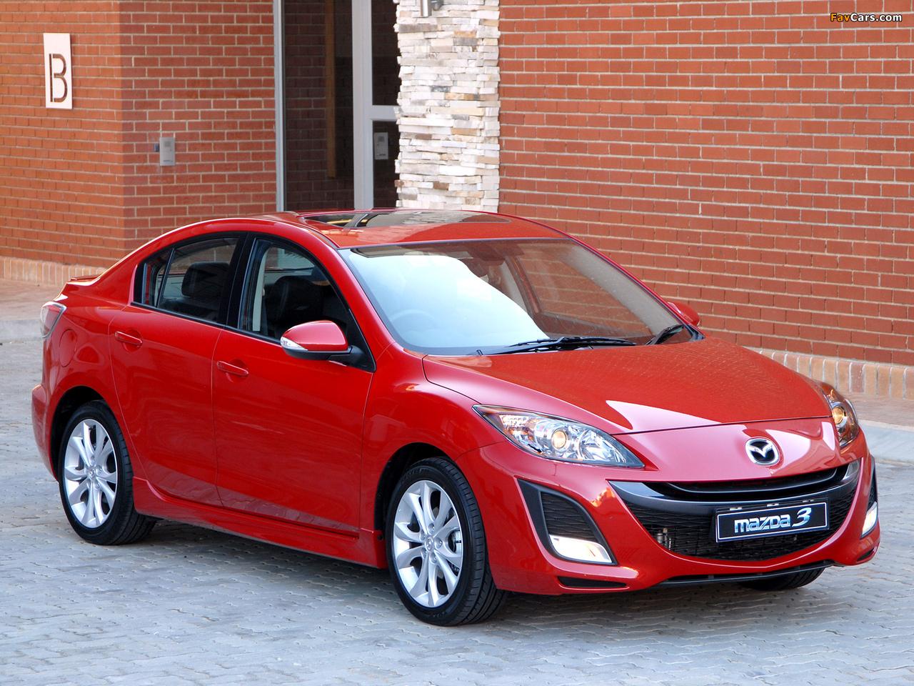 Mazda3 Sedan ZA-spec (BL) 2009–11 wallpapers (1280 x 960)