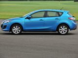 Mazda3 Hatchback UK-spec (BL) 2009–11 wallpapers