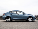 Mazda3 Sedan AU-spec (BL) 2009–11 wallpapers