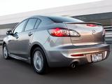 Mazda3 Sedan AU-spec (BL2) 2011–13 wallpapers