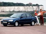 Images of Mazda 323 Sedan (BJ) 1998–2000