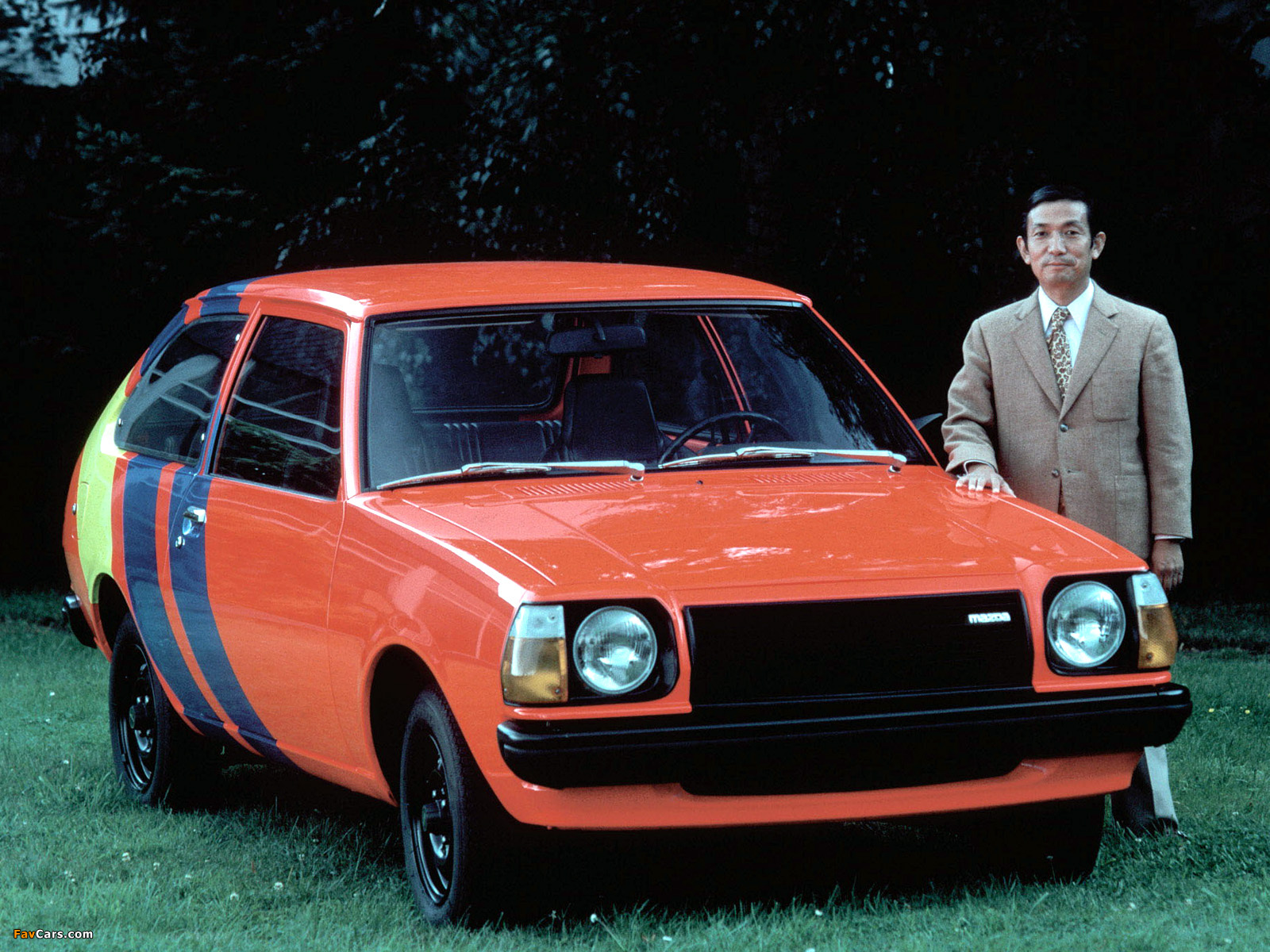 Mazda 323 3-door (FA) 1977–80 images (1600 x 1200)