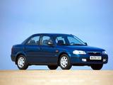 Mazda 323 Sedan (BJ) 1998–2000 pictures