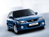 Mazda 323 F (BJ) 2000–03 photos