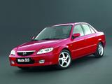 Photos of Mazda 323 Sedan (BJ) 2000–03