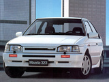 Pictures of Mazda 323 4WD (BF) 1987–91