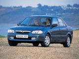 Mazda 323 Sedan (BJ) 1998–2000 wallpapers