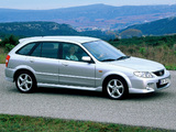 Mazda 323 F (BJ) 2000–03 wallpapers