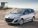 Images of Mazda5 US-spec (CW) 2011